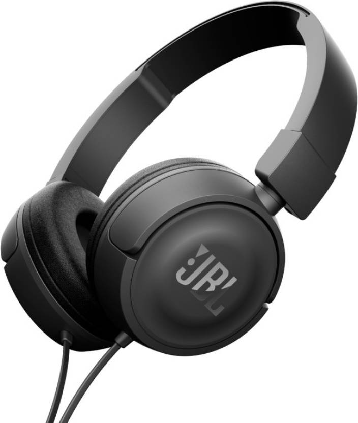 JBL T450BLACK Wired Headphones