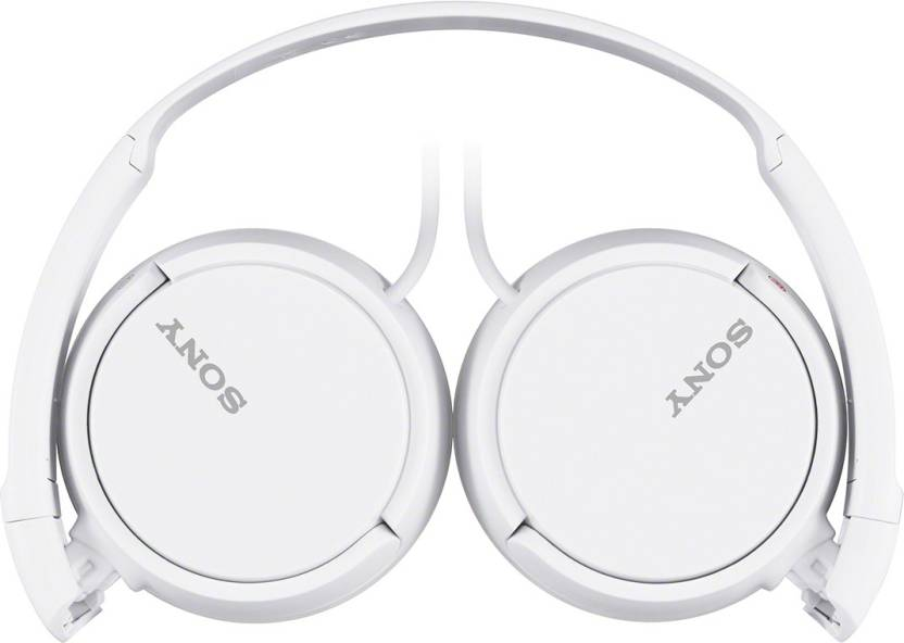 Sony MDR-ZX110 A Headphone (White, Over the Ear)