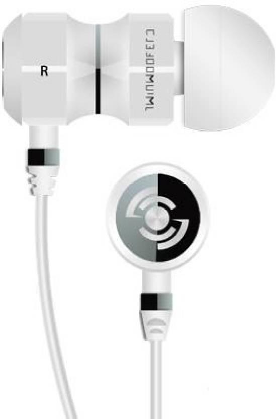 Tekfusion Twinwoofers Wired Headphone