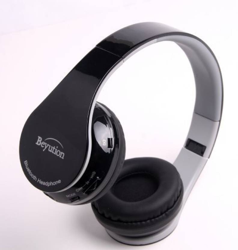 57cb3cadae8 Beyution New Black Stereo Hi-Fi Wireless Bluetooth 4.0 Headphones Headset  With Retail Package--Usa Seller Quick Shipping! Headphone (Black)