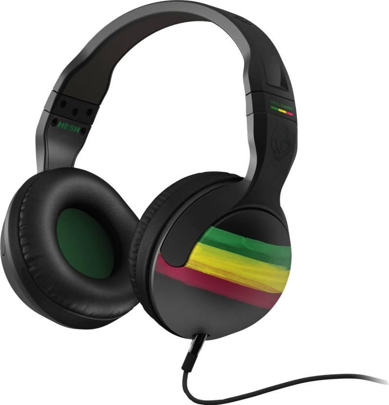 Skullcandy S6HSDZ-058 Hesh 2.0 Rasta Headphone (Over the Ear) By Flipkart @ Rs.2,499