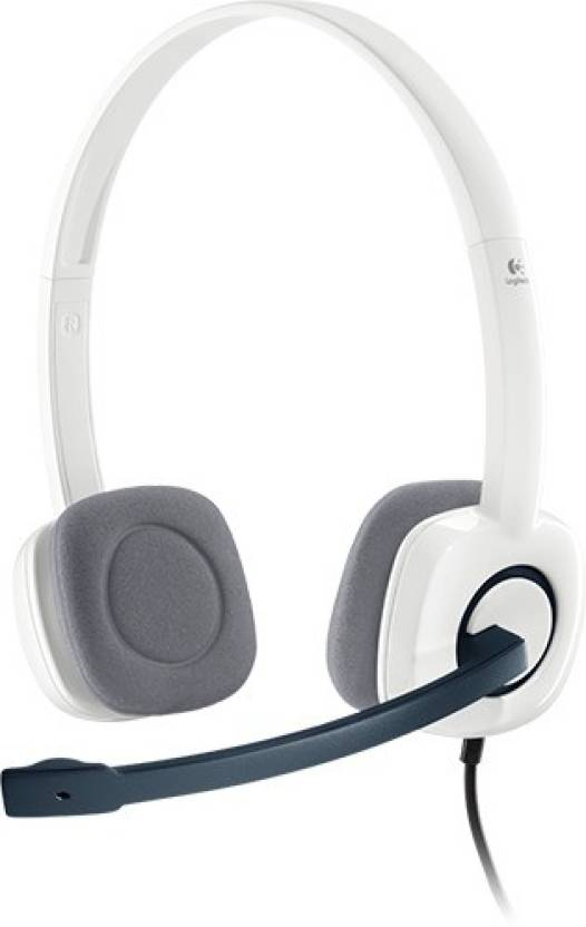 Logitech h150 White Wired Headset with Mic