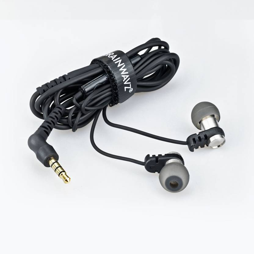Brainwavz Omega In Ear Earbuds Noise Isolating with Remote & Mic Headset with Mic