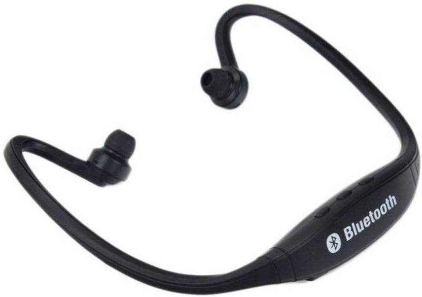 1fd07d8e0ea fellkon Oppo Smartphones Bluetooth Headset with Mic (Black, In the Ear)