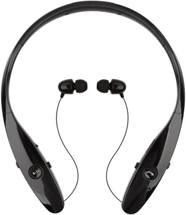 35968c87129 MatLogix Tone+ HBS-900 Bluetooth Headset with Mic (Black, In the Ear)