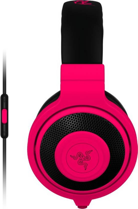 5ffb9b3a993 Razer Kraken Mobile - Mobile Analog Music & Gaming Wired Headset with Mic  (Red, Over the Ear)