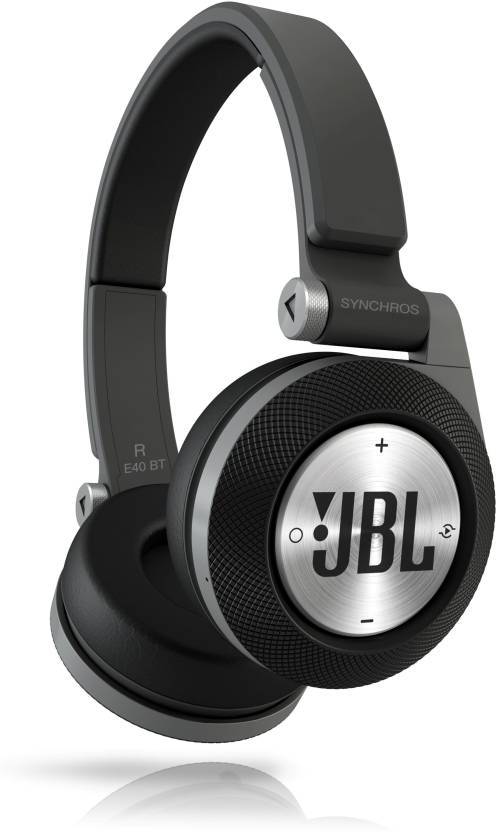 c6457921e4d JBL Synchros E40BT Wired, Bluetooth Headset with Mic (Black, Over the Ear)