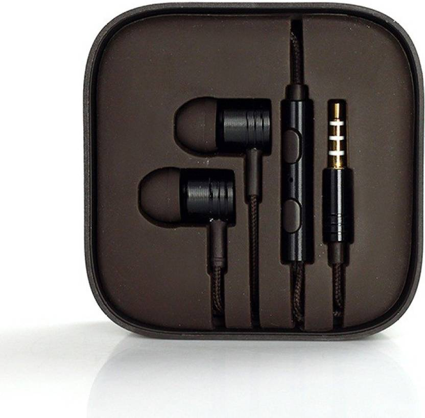 1be527c7e0f Ubon Big Daddy Bass Universal Handsfree Support With 3.5 Mm Jack Stereo  Dynamic Wired Headset with Mic (Black, In the Ear)