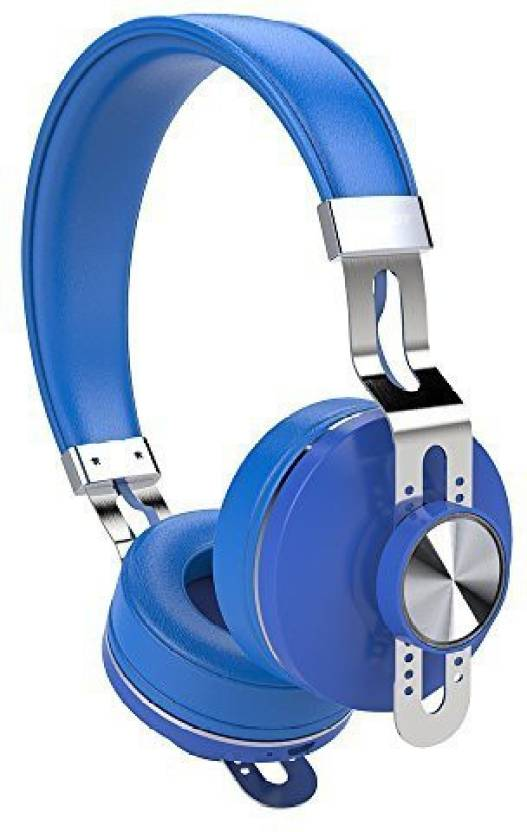 8e3f6ab63f5 ZEALOT ZEALOT Headset Wired, Bluetooth Headset with Mic (Blue, In the Ear)