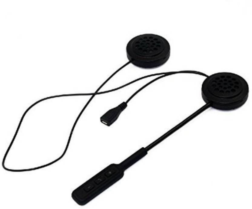 Shrih Headphone For Helmet Bluetooth Headset with Mic Price in India