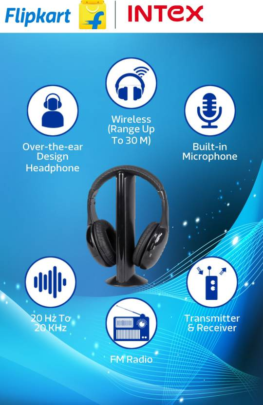 Intex Wireless Roaming Headphone