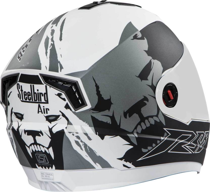 67bc8248 Steelbird AIR SBA-1 Beast Motorbike Helmet - Buy Steelbird AIR SBA-1 ...