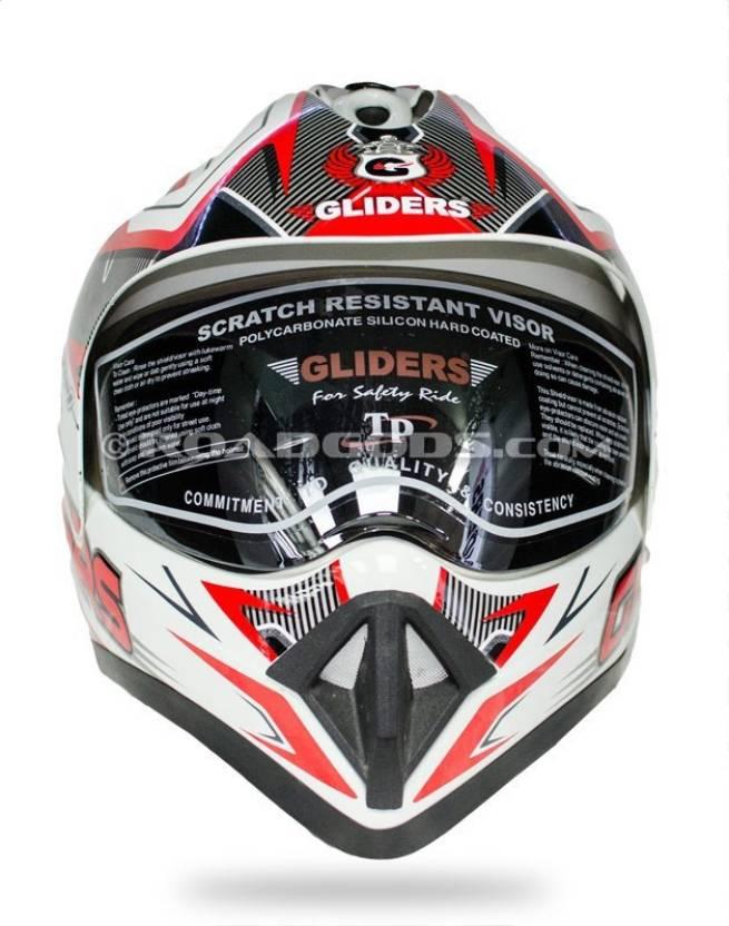 b3f187ad Gliders by Liberty MC-1 Motorbike Helmet - Buy Gliders by Liberty MC ...