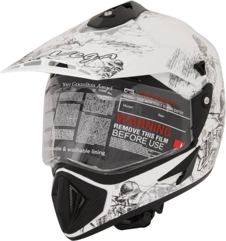 0771cd9a Vega Off Road Sketch Motorsports Helmet - Buy Vega Off Road Sketch ...