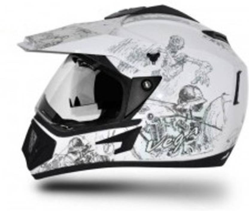 d3dfe20a VEGA Off Road D/V Sketch Motorbike Helmet - Buy VEGA Off Road D/V ...