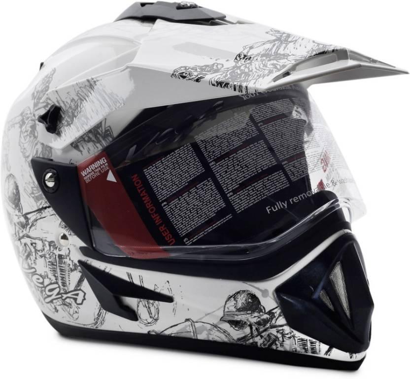 9bb37567 VEGA Off Road Sketch Motorsports Helmet - Buy VEGA Off Road Sketch ...