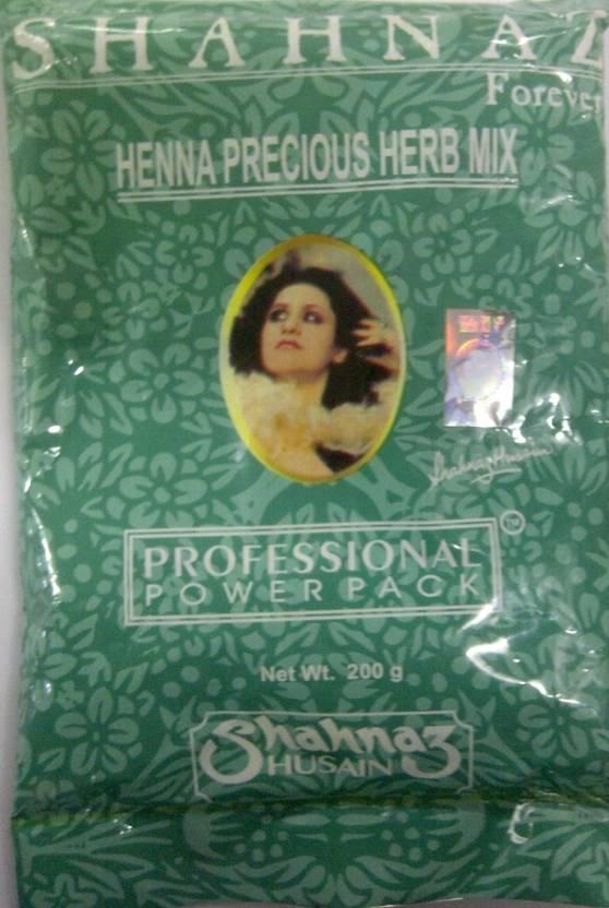 Shahnaz Husain Forever Henna Precious Herb Mix Professional Power Pack
