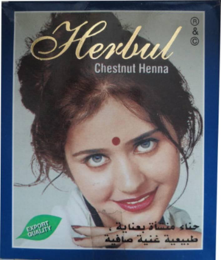 Allin Exporters Export Quality Chestnut Henna Hair Dye For Men