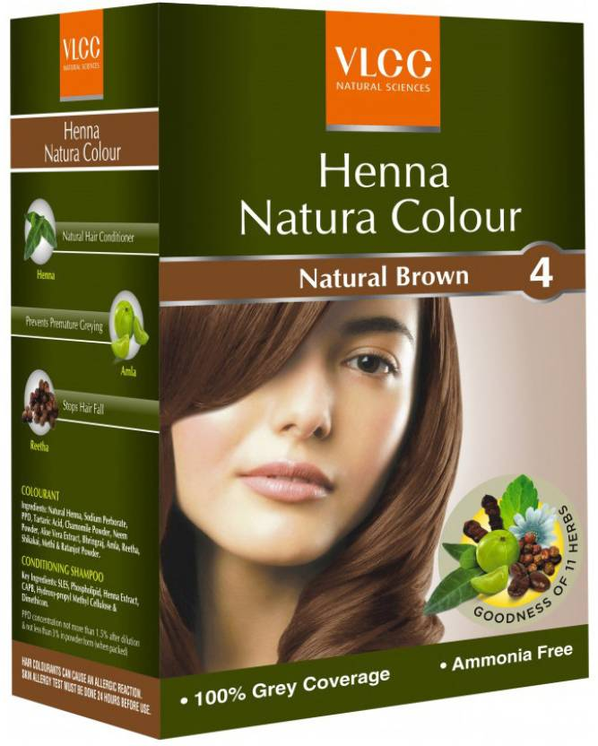 Vlcc Henna Natura Colour Brown Price In India Buy Vlcc Henna
