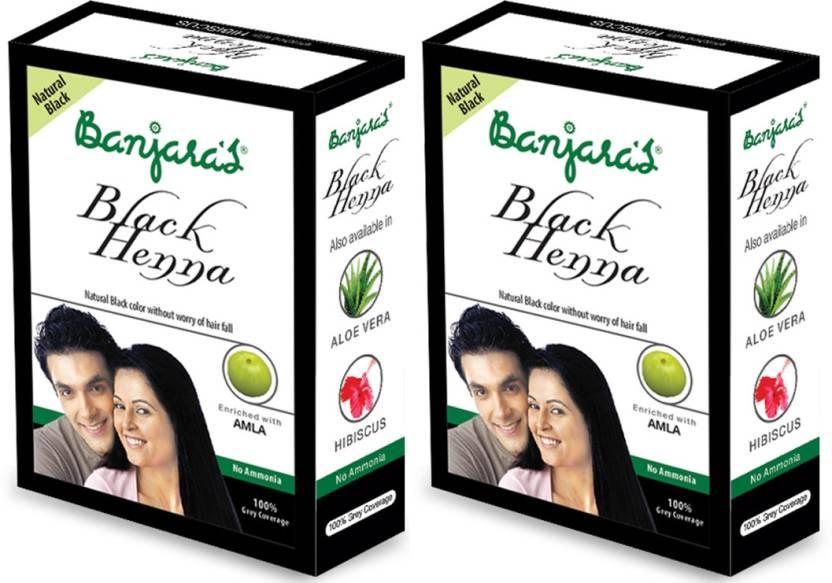 eebbc5ecbf791 Banjara's Black Henna With Amla 2 Packs - Price in India, Buy ...