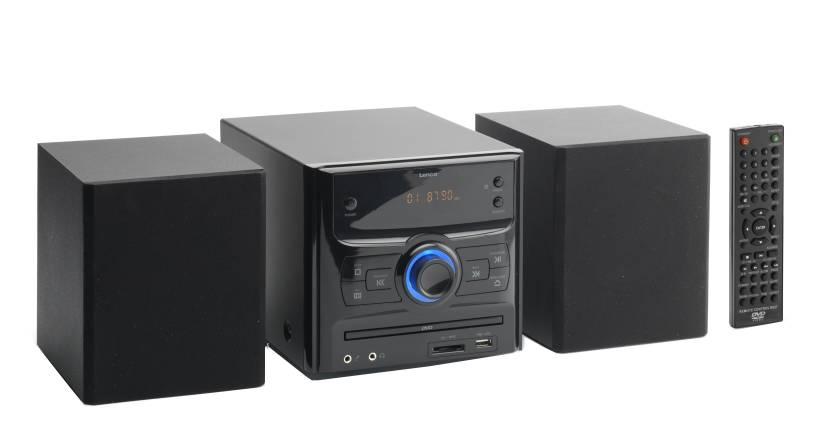 Lenco MDV-2 Micro Hi-Fi System