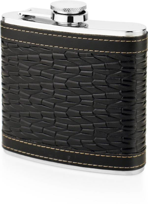 Mosaic Stainless Steel Hip Flask Price In India Buy Mosaic