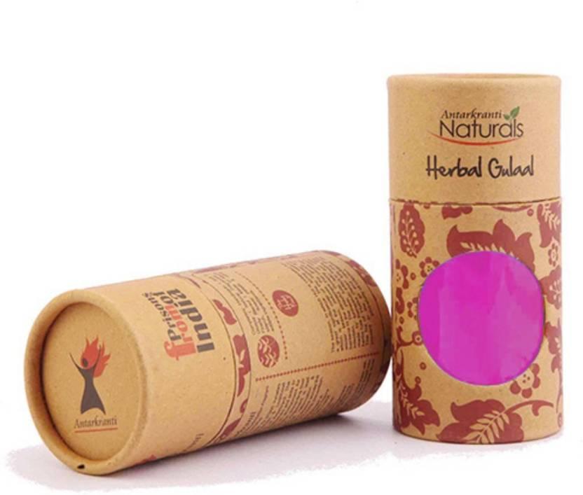 KING OF EVENTS Antarkranti Herbal Organic Holi Color Powder Pack of ...