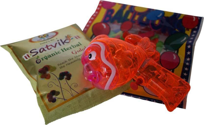 Luxury Gifts By Nikki Pichkari, Color, Balloon Holi Combo-44% OFF