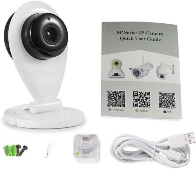 Wonder World ® Wifi Smart Net DVR Camcorder V380 360 Degree