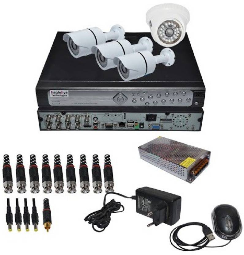 Eagle Eye Technologies 4CHEETD3B1 Home Security Camera Price in
