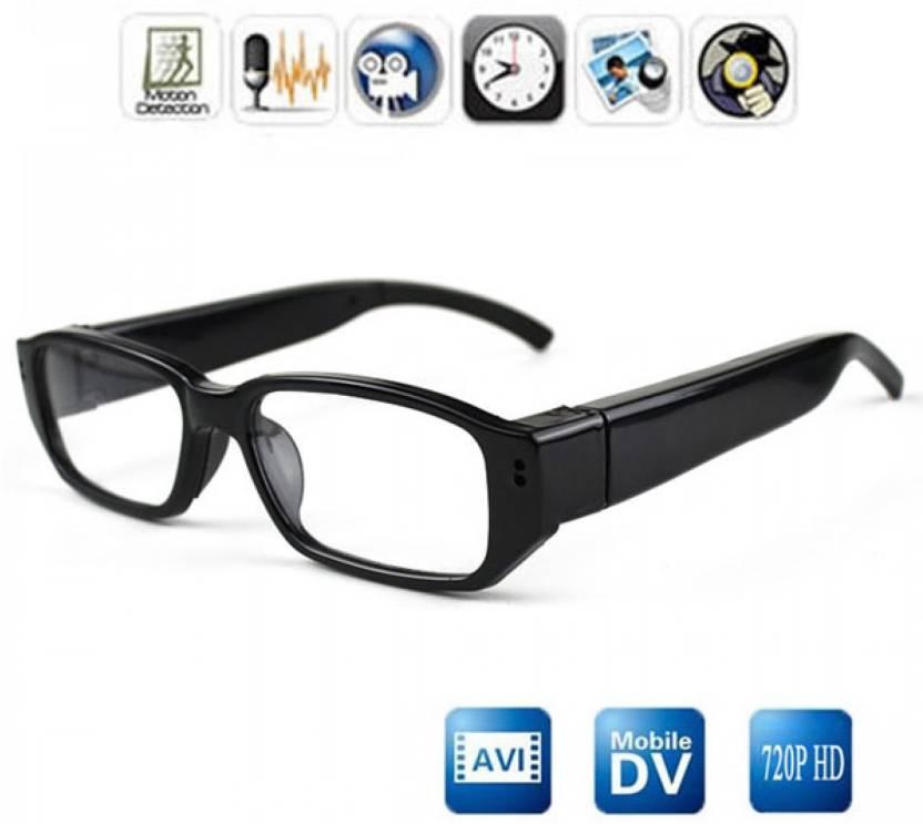 b1a5e18920e52 VibeX ® Mini 720P Spy Eye Glasses Hidden Eyewear DVR Video Recorder Cam  In-Built 4GB Memory Spy Camera (4 GB