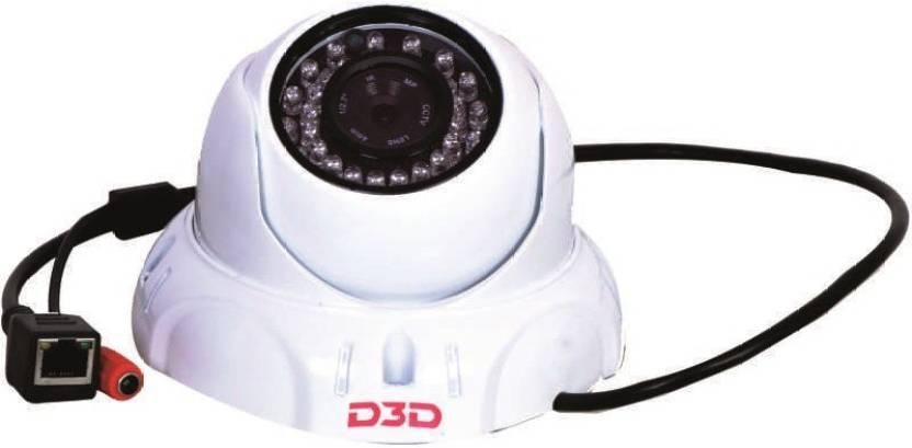 D3D IP Camera FULL HD (2 0 MP), Night Vision,Onvif 2 0,LENS 4 0 MM