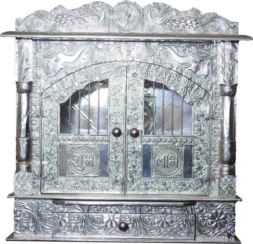 Pavitra Mandir Aluminium, Wooden Home Temple Price in India - Buy ...