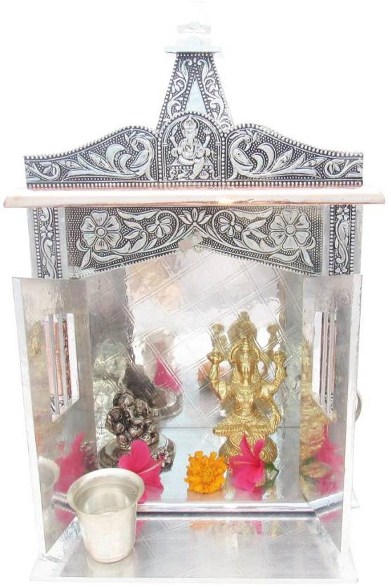GoldGiftIdeas Premium Mandir/Temple for Home, Copper, Aluminium ...