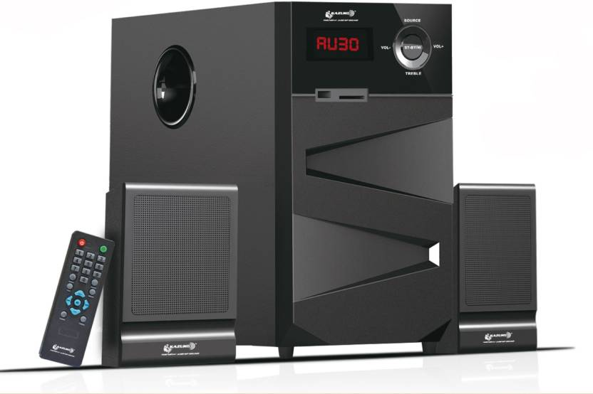 KAZUKO KZ - 8000 2.1 Home Theatre System (USB, SD/MMC, AM/FM)