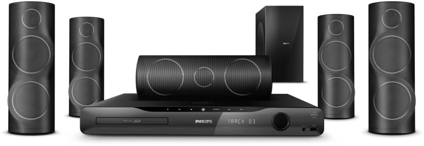 Philips HTS5561 Blu Ray 3D 5.1 Home Theatre System