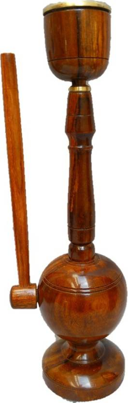 JaipurCrafts Stylish Decorative 11 inch Glass Hookah