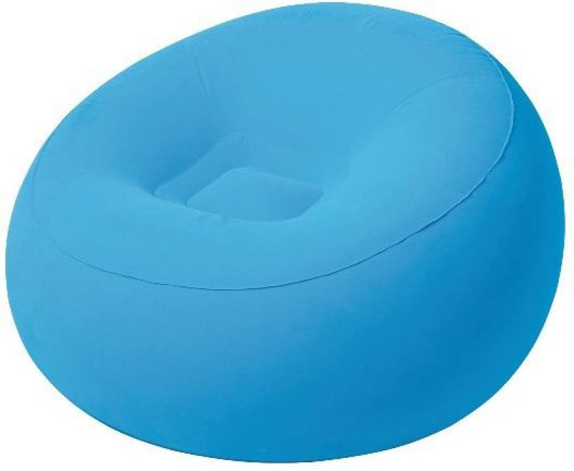 Srb Round Shape Air Set Best07 Inflatable Sofa Chair Price In India