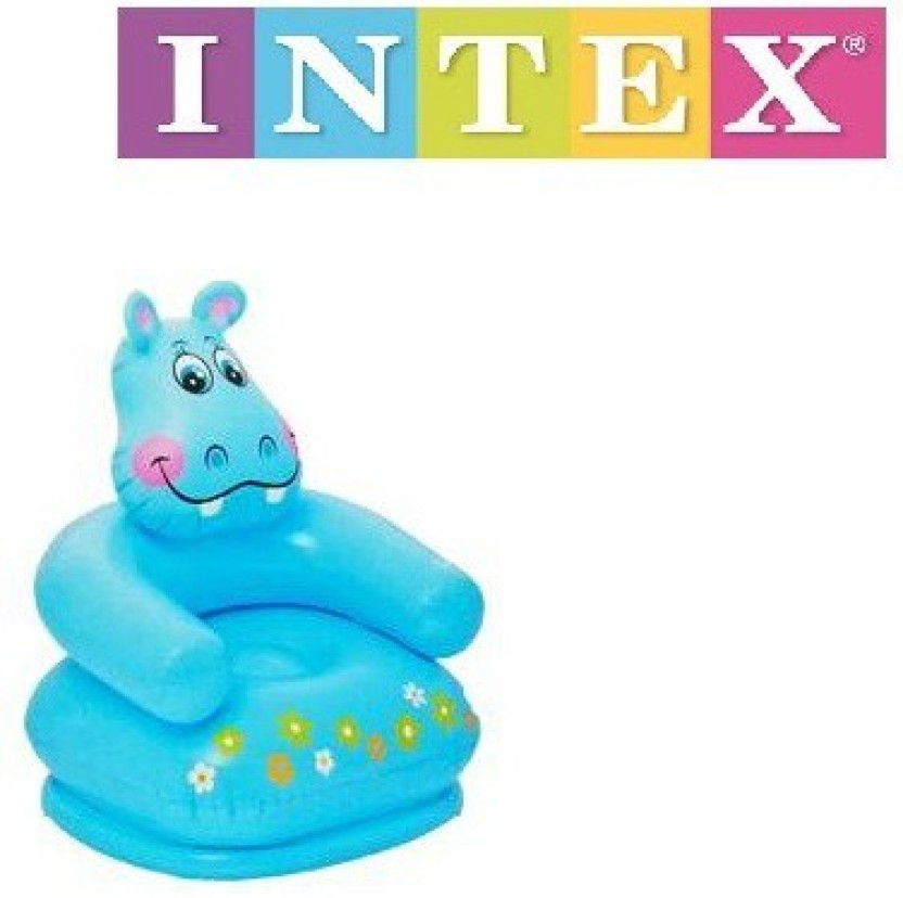 Intex Hippo Chair Inflatable Happy Animal Chair