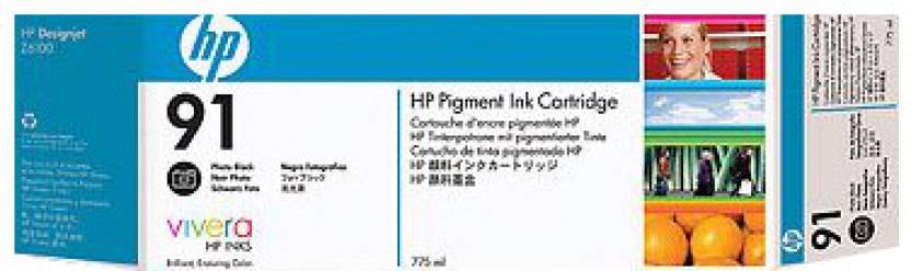 HP 91 Photo Black Ink Cartridge