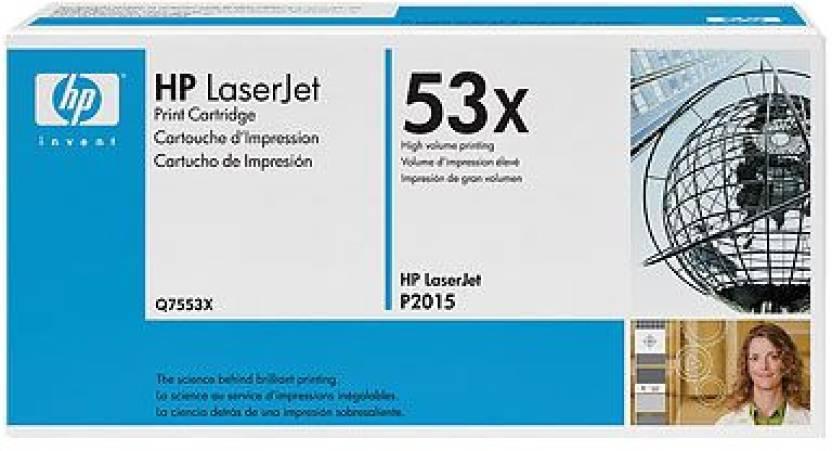 HP 53X Black LaserJet Toner Cartridge