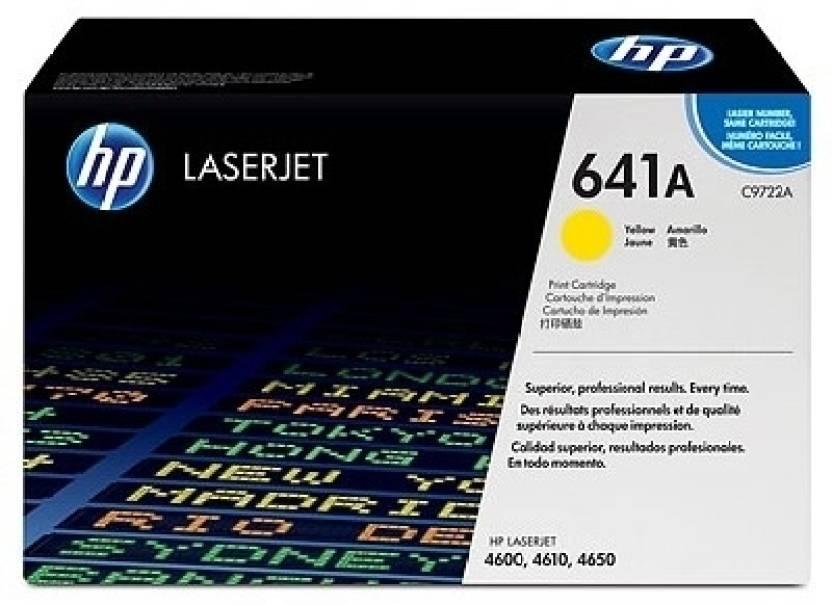 HP 641A Yellow LaserJet Toner Cartridge