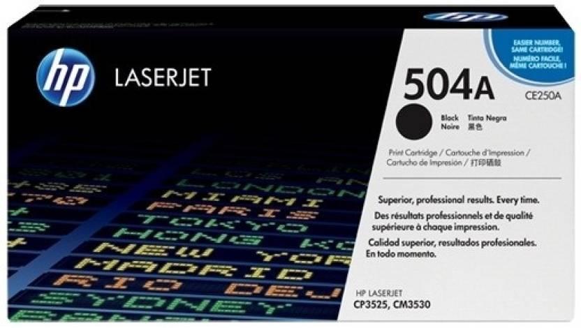 HP Color LaserJet CE250A Black Print Cartridge