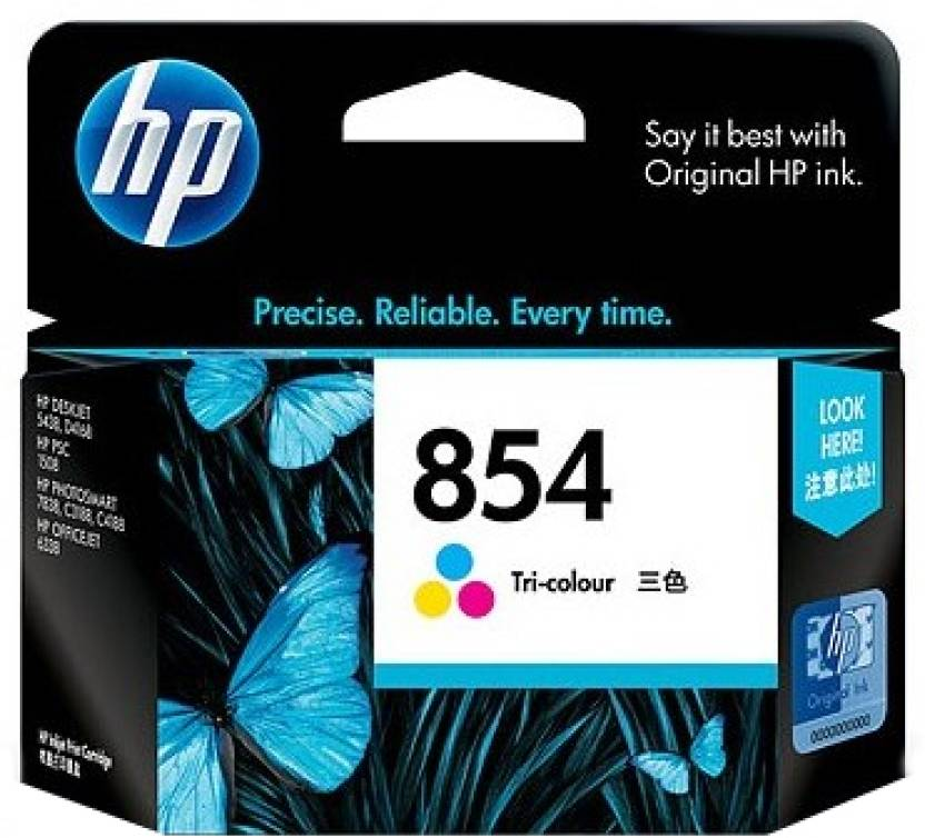 HP 854 Tricolor Ink Cartridge
