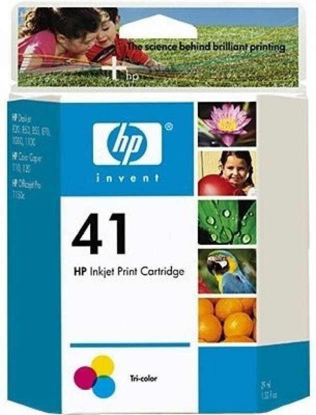 HP 41 Inkjet Print Multi Color Ink