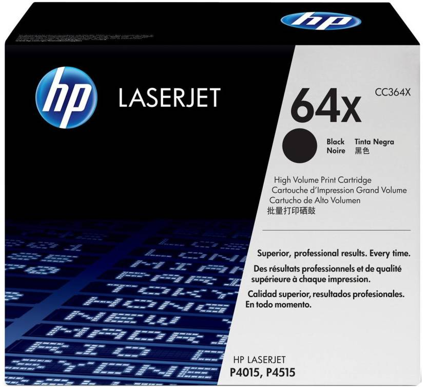 HP 64X Black Print LaserJet Toner Cartridge