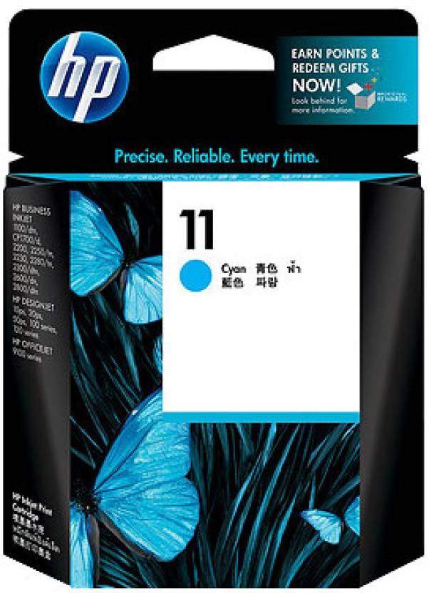 HP 11 Cyan Ink Cartridge