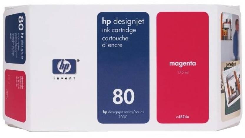 HP 80 175-ml Magenta Ink Cartridge