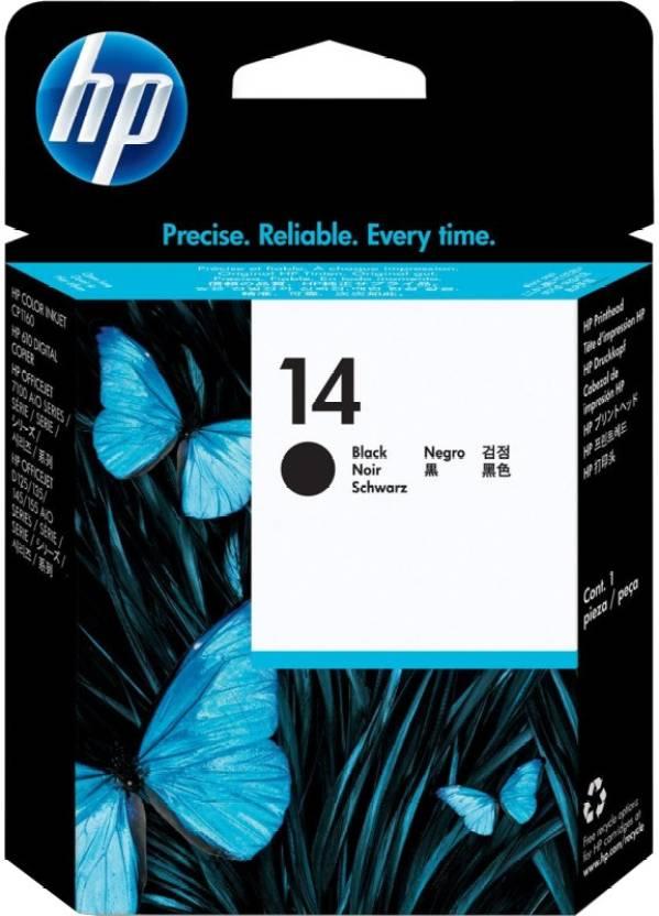 HP 14 Black Printhead