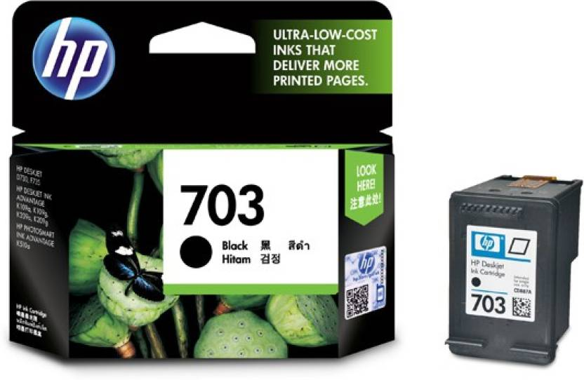 HP 703 Single Color Ink Cartridge